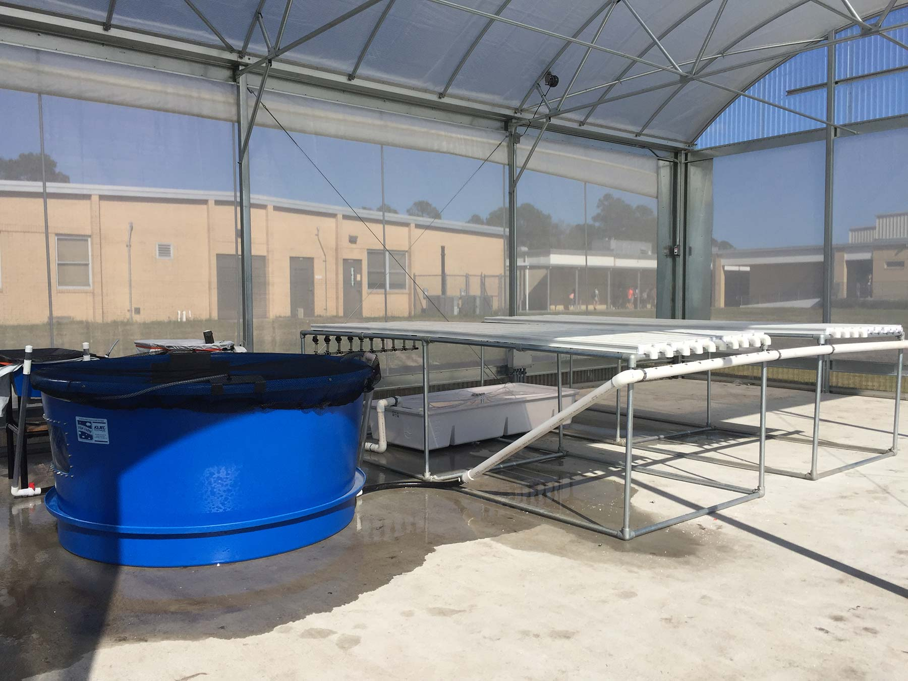 West Nassau High School Aquaponics Facility